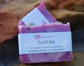English Rose Bar Soap