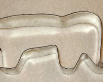 Vintage Metal Elephant Cookie Cutter