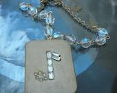 Vintage Mini Music Box necklace