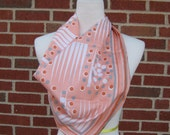 peachy GEOMETRIC mod 60's scarf
