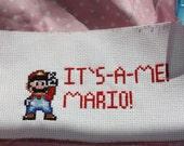 It's A Me, Mario, Cross Stitch