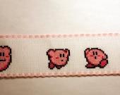 Kirby Cross Stitch Bookmark