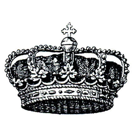 Unmounted Rubber Stamp - Royal Crown 1
