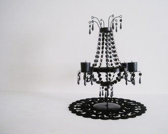 Dramatically Dazzling Table Top Chandelier Candelabra MADE TO ORDER