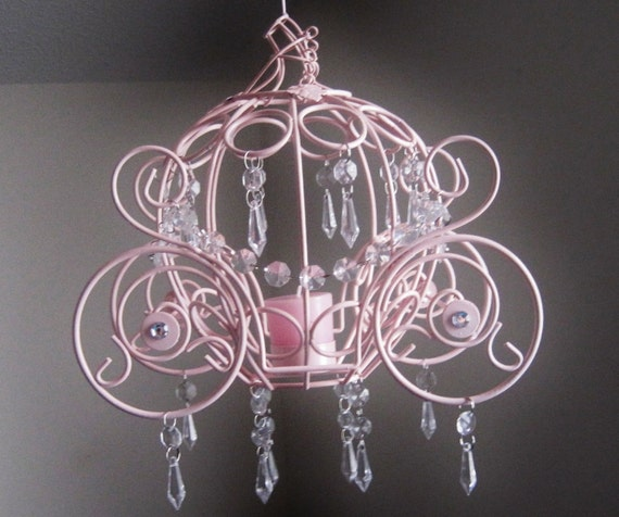 Cinderella Collection Coach One Candle Hanging Chandelier
