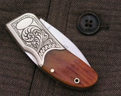 Personalized Custom Engraved Lockback Pocket Knife