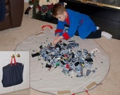 DENIM Neat 'n Tidy Playmat Bag .... No Drawstring Concerns