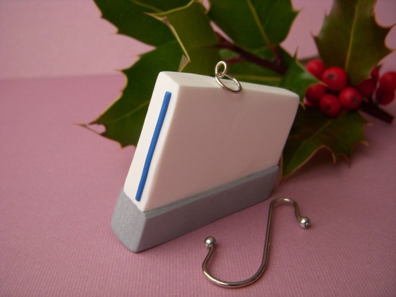 Nintendo wii Christmas ornament