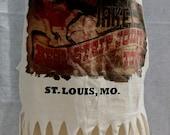 Saint Louis Missouri White Fringe Tee Jakes Strip Joint Pinup