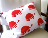 Cushion Cover - Red Tortoise