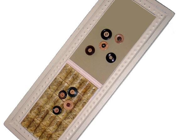 Magnetic Wine Cork Bulletin Board Set 22x8