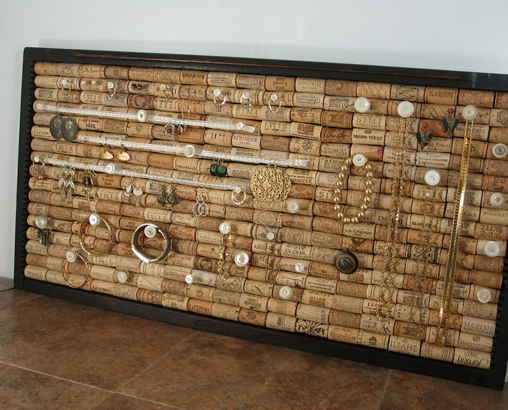 Things To Make With Wine Corks Wall Art