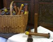 Wooden Spinning Bobbins - Spools