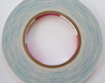 "Authentic by manufacturer 2 Rolls of 7mm(1/4"") 55Yards Non woven Double Sided Scor Tape 4 Hair clip, Headband"
