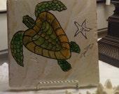 Sea Turtle Tile Trivet/Hotplate