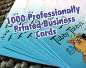 Business Cards - CUSTOM FULL COLOR Quantity of 1000