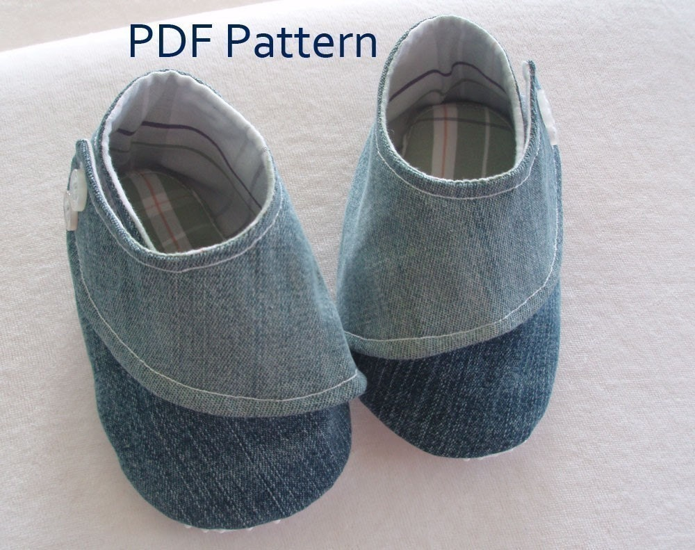 EMBRACE Baby and Toddler Shoe Pattern PDF Download