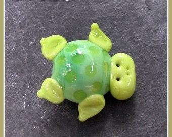 Sea Turtle Lampwork Bead