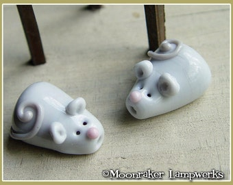 Mouse Lampwork Bead