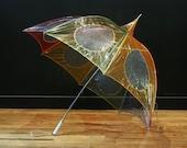 Rainbow Umbrella Vintage 1960s
