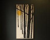 Mid Century Modern Stretch Canvas / Robert Van Allen