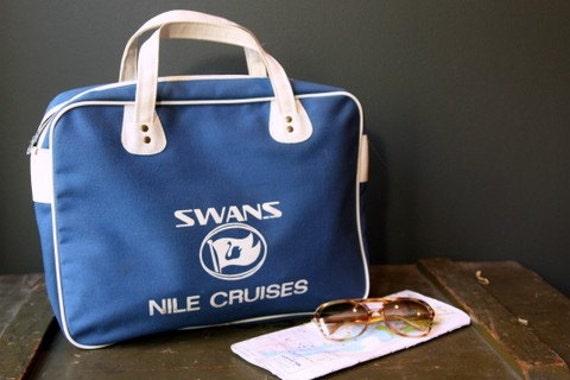 Vintage Cruise Travel Bag Swan Nile Cruises
