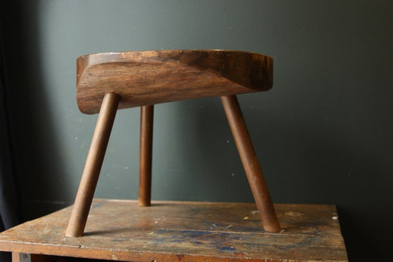 Primitive Stool / Wooden Stool