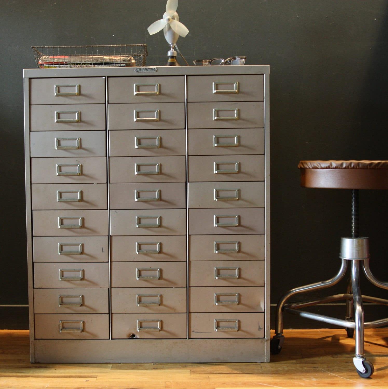 Reserved Vintage Industrial Metal Cabinet Steelmaster 30