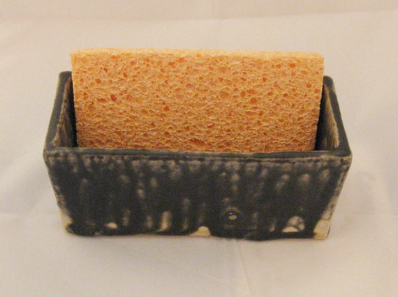 From the Ashes Ceramic Sponge/Business Card Holder
