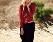 SALE Accordion Pleat Maxi Skirt