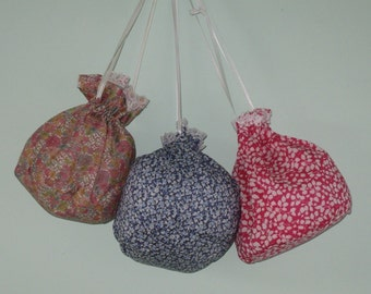 Pretty liberty dolly bags  ideal for party bags.