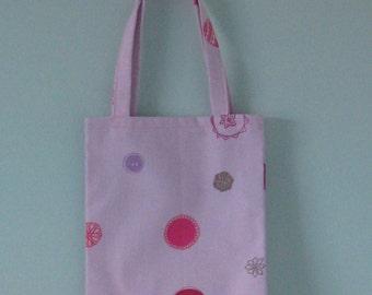 A cute shopping bag for a little girl