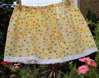SALE PRICE  10 dollars Sunshine Skirt (3 to 4 years)