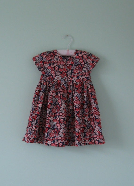 Beautiful liberty dress to suit an 18 month to 2 year old little girl