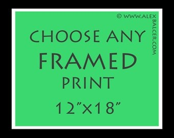 FREE Next-Day SHIPPING - Choose Your Favorite Fine Art Photography Print with Matting and Framing - www.alexbalcer.com