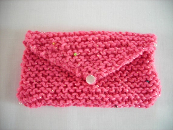 Knit Cell Phone Cozy Vegan