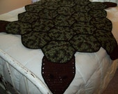 Turtle Afghan FREE SHIPPING