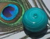 Dark Teal Cabinet Knob \/ Drawer Pull