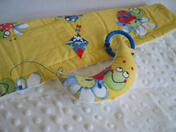 Yellow Bug Changing Mat and Toy