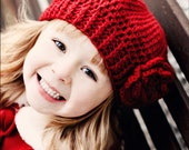 CROCHET PATTERN: Slouchy Hat for Children Crochet Pattern (0021) - Permission to Sell Finished Product