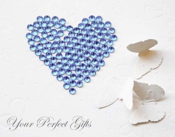 1000 pcs Acrylic Round Faceted Flat Back Rhinestone 3mm Light Blue FREE shipping USA Scrapbooking Embellishment Nail Art LR085