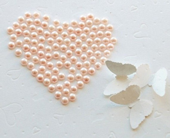 100 pcs Half Round Flat Back Pearl 7mm Light Pastel Pink FREE shipping USA for  Embellishment Cell Phone Case Nail Art LP027