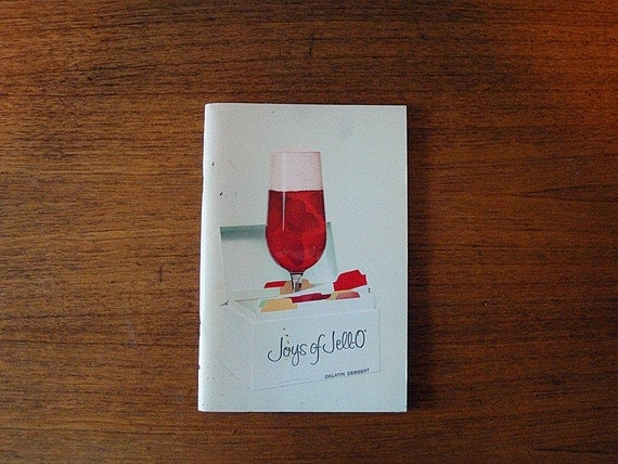 SALE - Vintage Joys of Jell-O Cookbook