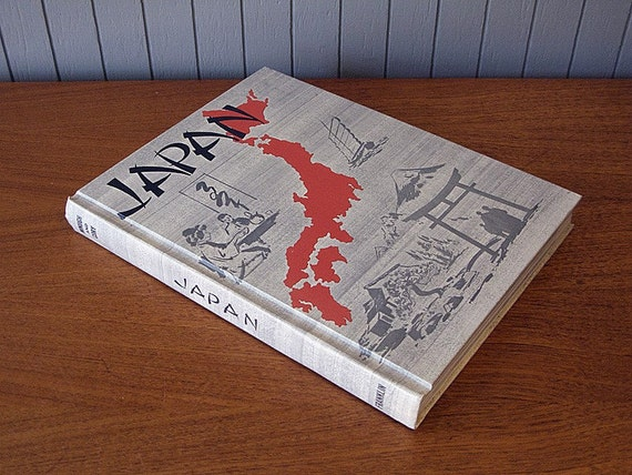 SALE - Vintage Japan Textbook from 1965
