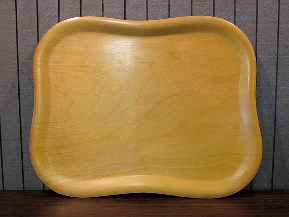Vintage Fincraft Plywood Tray - No. 2