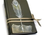 Quill - Painted Leather Journal