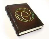 Celtic Large Leather Journal / Sketchbook - Leonardo Da Vinci Geometry