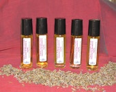 On Sale 5 Pack of Lavender Essential Oils in 10ml Glass Bottles With Free Shipping