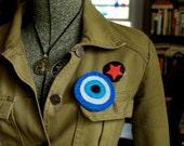 Nazar Blue Eye Anti-Evil Eye Pin