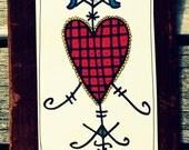 Ezili veve card, Lwa-achte